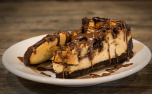 The Berger Cookie Cheesecake dessert
