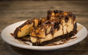 The Berger Cookie Cheesecake dessert