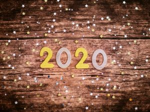 new year's eve at state fare 2020 on hardwood sign
